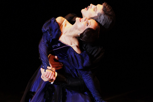 Onegin with Roberto Bolle  at the Teatro alla Scala in 2012.