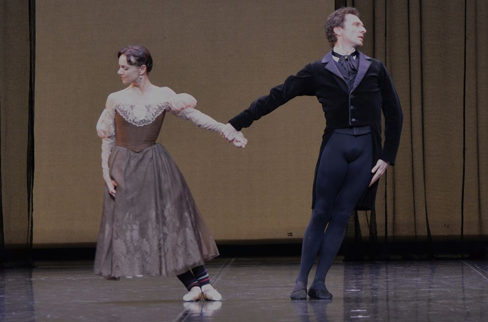 Rehearsal for Onegin with Manuel Legris