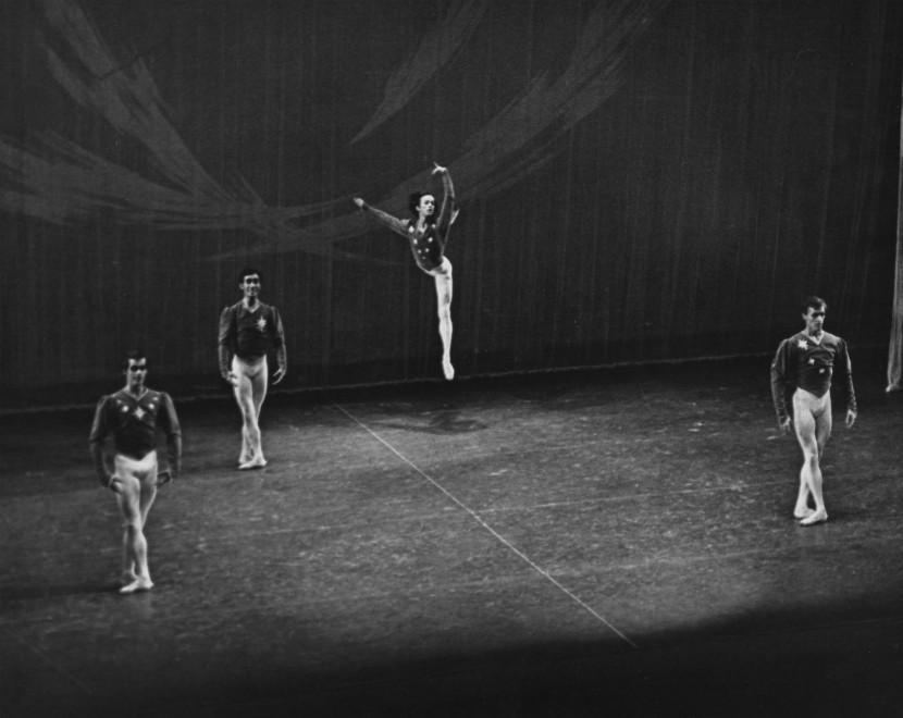 "Lawrence Rhodes in ""Variations for Four"""